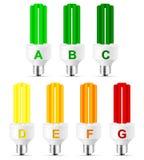 Bulbo del rendimiento energético libre illustration