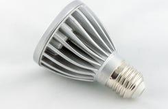 Bulbo do diodo emissor de luz isolado no fundo branco Imagens de Stock Royalty Free