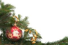 Bulbo do Natal Fotografia de Stock