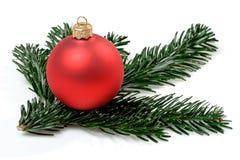 Bulbo do Natal Fotos de Stock Royalty Free
