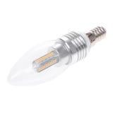 Bulbo E14 do diodo emissor de luz imagens de stock