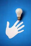 Bulbo eléctrico. Imagen de archivo libre de regalías