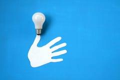 Bulbo eléctrico. Fotografía de archivo