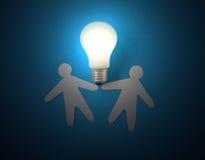 Bulbo eléctrico. Foto de archivo libre de regalías