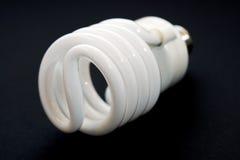 Bulbo fluorescente compacto Fotografia de Stock Royalty Free