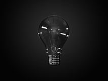 Bulbo incandescente stock de ilustración