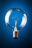 Bulbo incandescente claro Foto de archivo libre de regalías