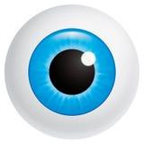 Bulbo oculare Fotografie Stock
