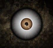 Bulbo oculare del mostro Immagini Stock