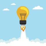 Bulbo Rocket Foto de archivo libre de regalías