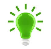 Bulbo verde ilustração do vetor