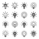 Bulbos ajustados ilustração do vetor