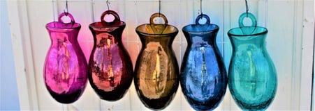 Bulbos de cristal Imagenes de archivo