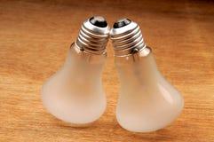 Bulbos de la electricidad Fotografía de archivo