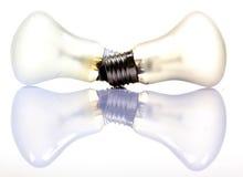 Bulbos de la electricidad foto de archivo libre de regalías
