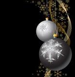 Bulbos de la Navidad Fotos de archivo