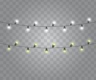 Bulbos de la secuencia de las luces stock de ilustración