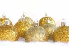 Bulbos do Natal Fotografia de Stock Royalty Free