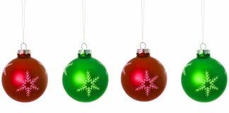 Bulbos do Natal Imagem de Stock