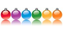 Bulbos do Natal Fotografia de Stock
