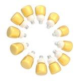 Bulbos múltiples que forman un círculo Foto de archivo libre de regalías