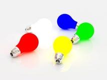 Bulbos multicolores libre illustration