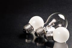Bulbos pequenos e grandes Fotos de Stock