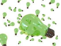 Bulbos verdes ilustração royalty free