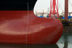 Bulbous Bow Royalty Free Stock Images