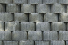 Bulbous, rough surface. Bulbous, gray rough surface on the street, background Stock Photo