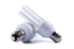 Bulbs. Light bulbs  on white background Royalty Free Stock Image
