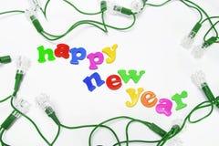 bulbs decorative greetings light new year Στοκ Εικόνες