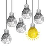 Bulbs design Stock Photography