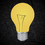 Bulbs design Royalty Free Stock Images