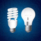 Bulbs design Royalty Free Stock Photography
