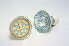 Bulbs stock image