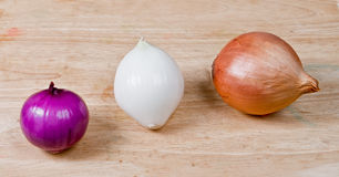 Bulbs of onion Royalty Free Stock Photo