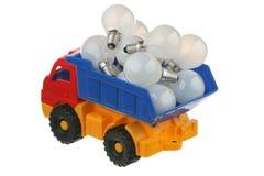Bulbs in the truck Stock Photo