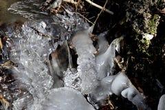 Bulby, ghiaccioli pieni di bolle Fotografie Stock