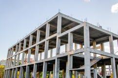 Bulding новый дом Стоковое Изображение