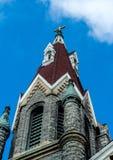 Bulding arkitektur för klosterbroder - kyrklig konst Arkivfoto