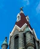 Bulding arkitektur för klosterbroder - kyrklig konst Arkivfoton