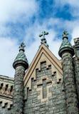 Bulding arkitektur för klosterbroder - kyrklig konst Royaltyfri Foto