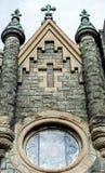 Bulding arkitektur för klosterbroder - kyrklig konst Royaltyfri Fotografi