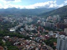 Bulding grande, o cali grande de Colômbia da cidade imagens de stock royalty free