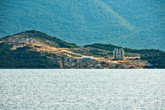 Bulding site. Building site of a bridge (early phase) on peninsula Peljesac in Croatia, Europe Royalty Free Stock Photos