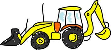 buldożer Zdjęcie Royalty Free