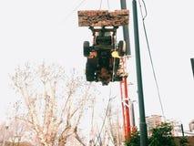 buldożer Zdjęcia Stock