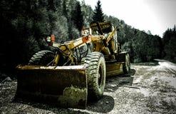 buldożer mocniej Fotografia Royalty Free