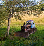 buldożer stary Fotografia Stock